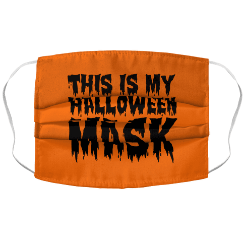 This Is My Halloween Mask Accordion Face Mask