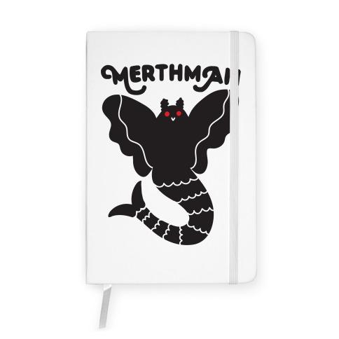 Merthman (Mermaid Mothman) Notebook