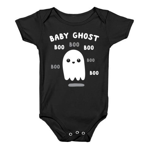 Baby Ghost Boo Boo Boo Baby Onesy