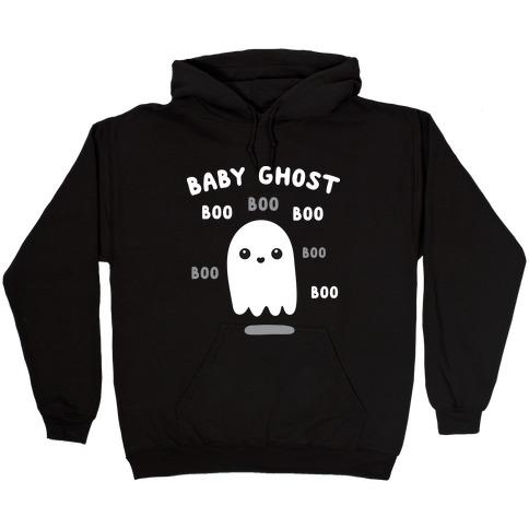 Baby Ghost Boo Boo Boo Hooded Sweatshirt