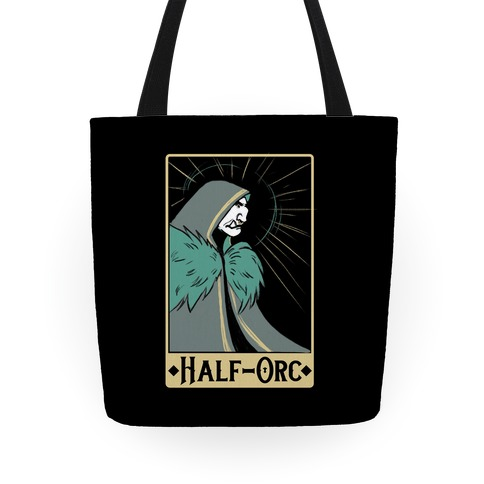 Half-Orc - Dungeons and Dragons Tote