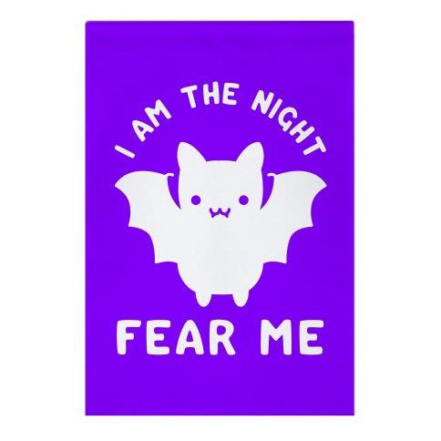 I Am The Night Fear Me Garden Flag