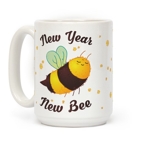 New Year New Bee Coffee Mug