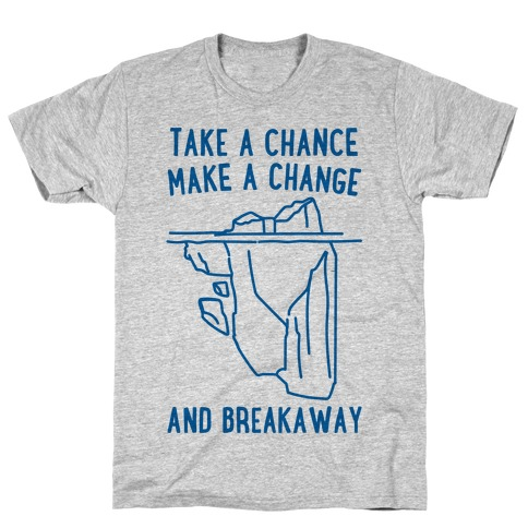 Breakaway Iceberg Parody T-Shirt
