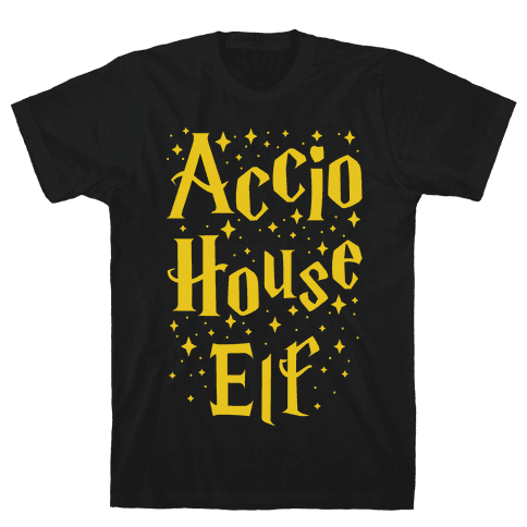 Accio House Elf Mens T-Shirt