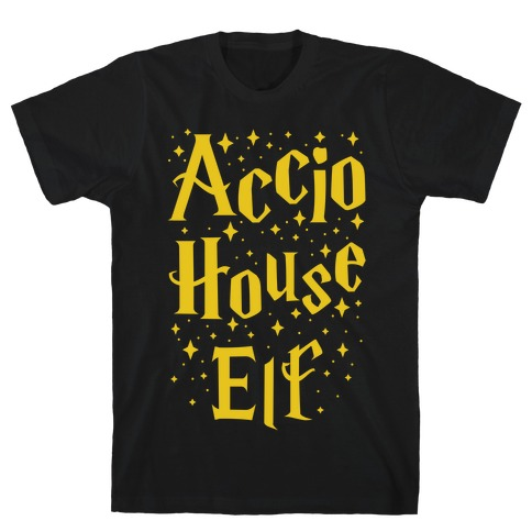 Accio House Elf Mens T-Shirt