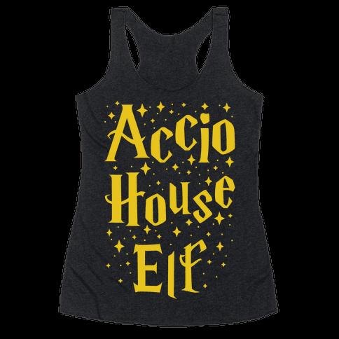 Accio House Elf Racerback Tank Top