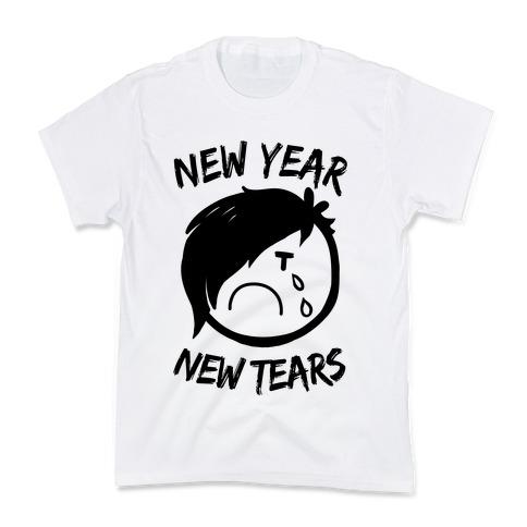 New Year, New Tears Kids T-Shirt