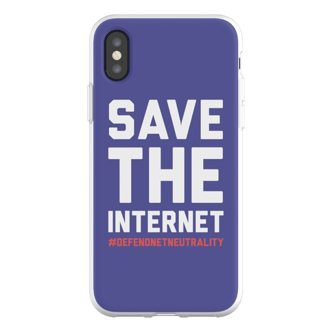 Save The Internet #DefendNetNeutrality Phone Flexi-Case
