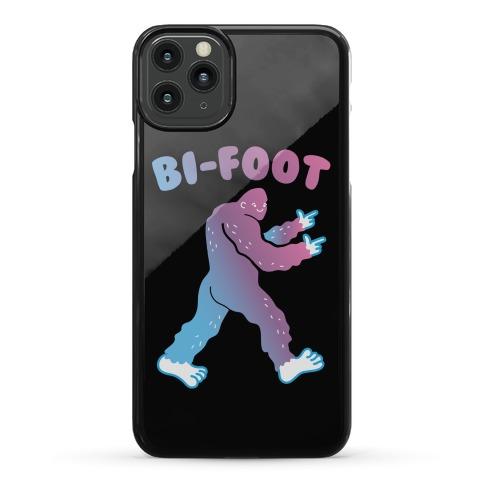 Bi-Foot Bisexual Bigfoot Phone Case