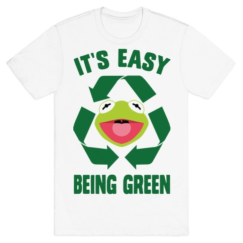 It's Easy Being Green Recycling Kermit T-Shirt