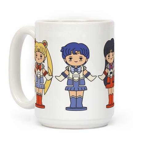 Sailor Moon Inner Senshi Pocket Parody Coffee Mug