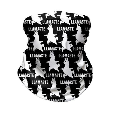 Llamaste Yoga Llama Neck Gaiter