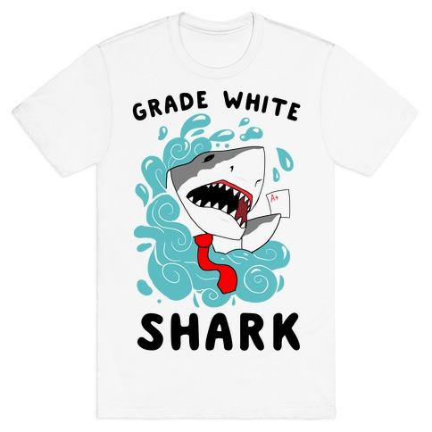 Grade White Shark T-Shirt