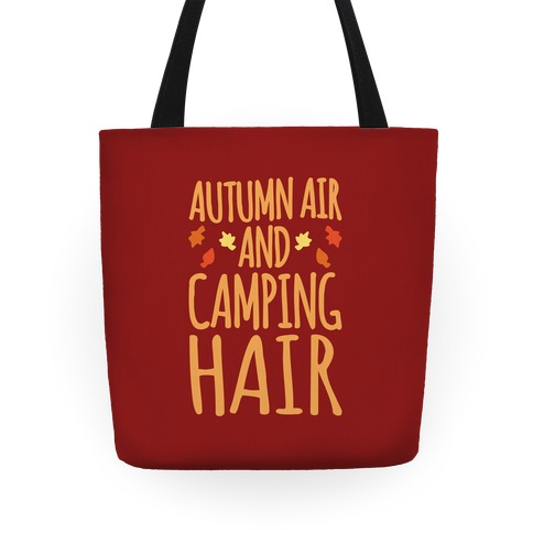 Autumn Air And Camping Hair Tote