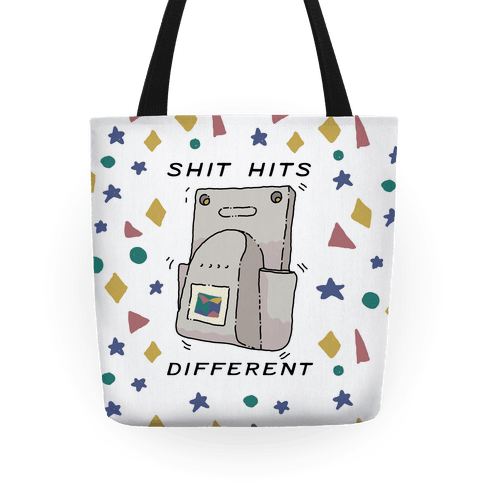 Shit Hits Different (Rumble Pack) Tote