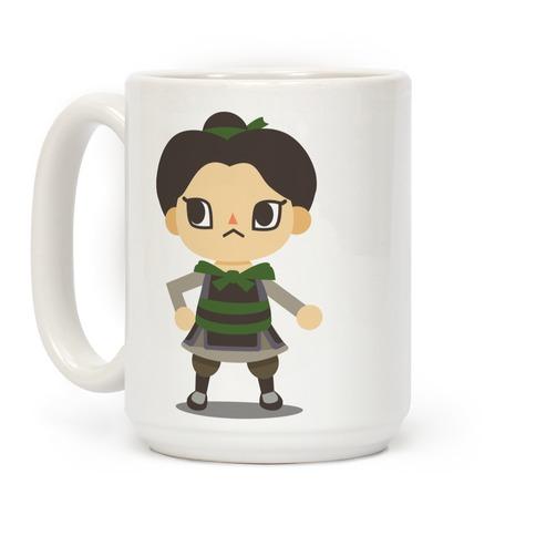 Princess Crossing Ping Parody Coffee Mug
