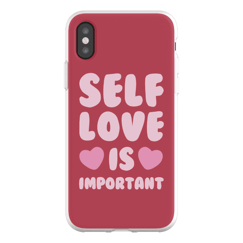 Self Love Is So Important Phone Flexi-Case
