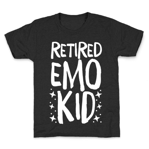 Retired Emo Kid Kids T-Shirt