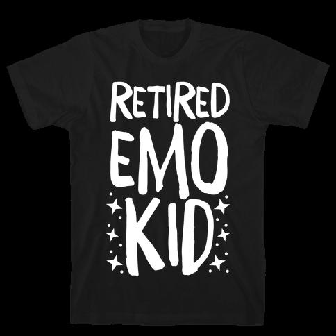 Retired Emo Kid Mens/Unisex T-Shirt