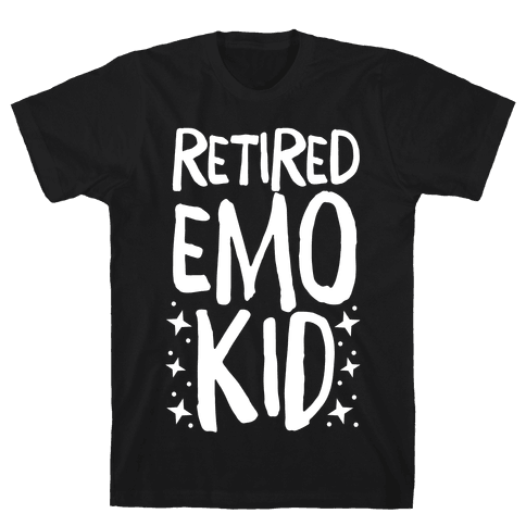 Retired Emo Kid Mens/Unisex T-Shirt
