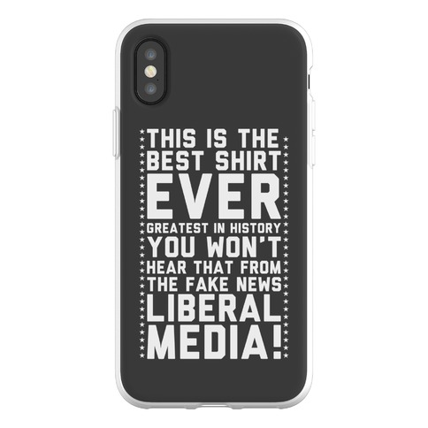 Fake News Liberal Media Phone Flexi-Case