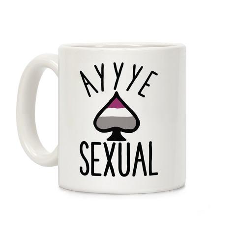 Aye Sexual Coffee Mug