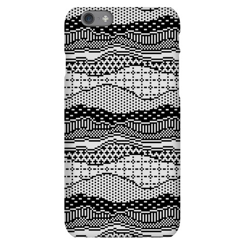 Pixel Waves Phone Case