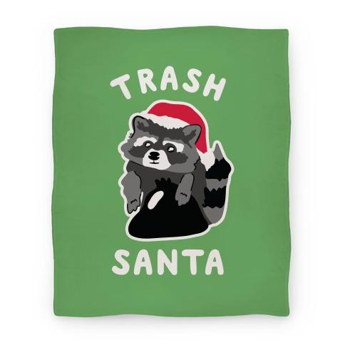 Trash Santa Blanket