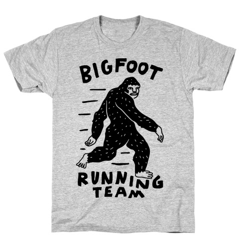 Bigfoot Running Team T-Shirt