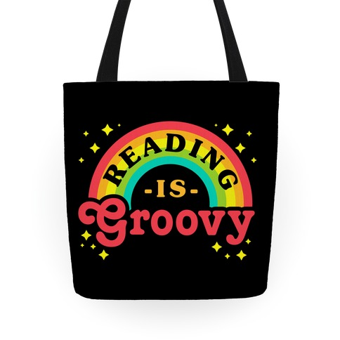 Reading is Groovy Tote