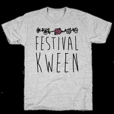 Festival Kween Mens T-Shirt