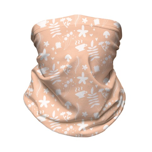 Dainty Cottage Pattern Neck Gaiter