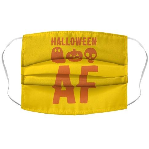 Halloween AF Accordion Face Mask