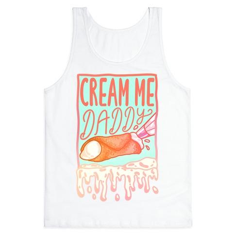 Cream Me Daddy Cannoli Tank Top
