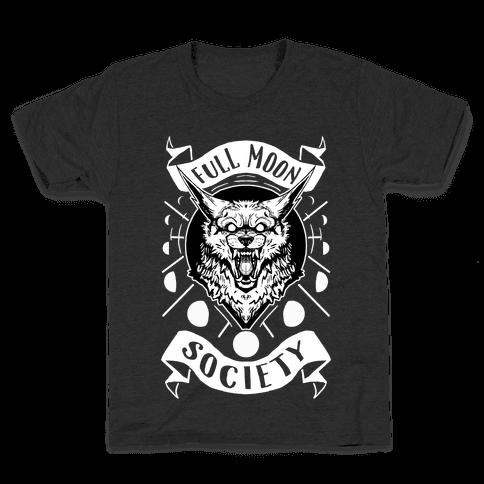 Full Moon Society Kids T-Shirt