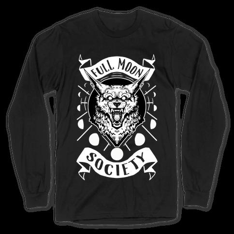 Full Moon Society Long Sleeve T-Shirt