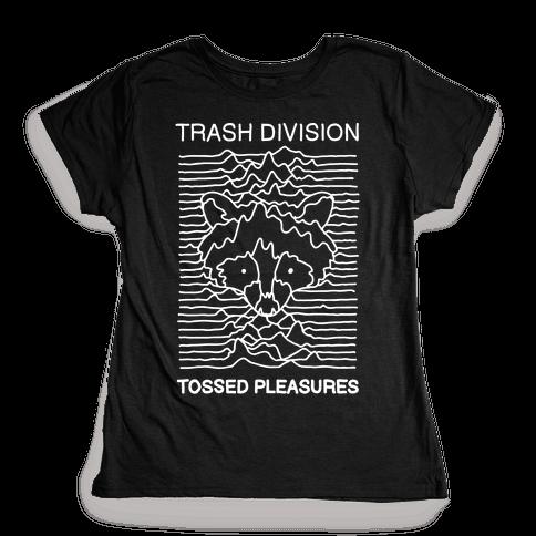 Trash Division Womens T-Shirt