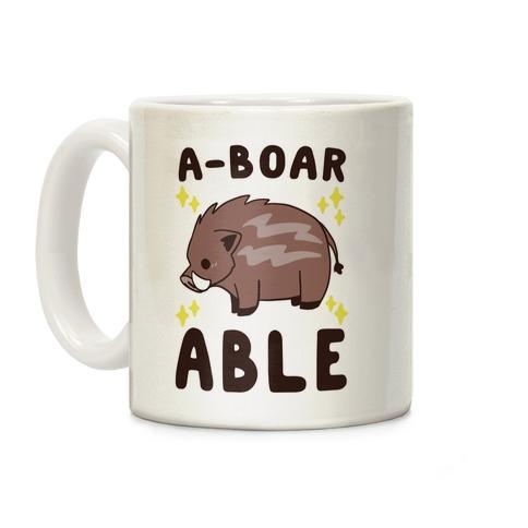 A-boarable - Boar Coffee Mug
