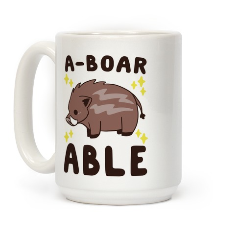 A-boarable - Boar Coffee Mug