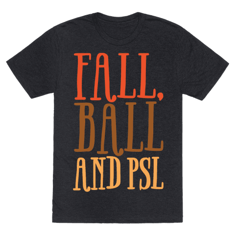 Fall Ball and Psl White Print