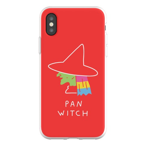 Pan Witch Phone Flexi-Case