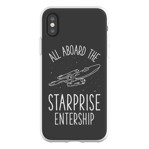 All Aboard The Starprise Entership Phone Flexi-Case