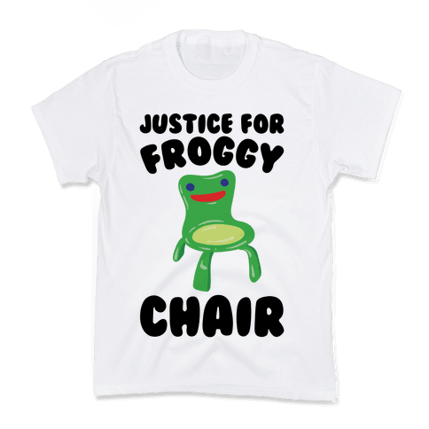 Justice For Froggy Chair Parody Kids T-Shirt