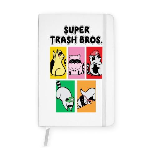 Super Trash Bros. Notebook