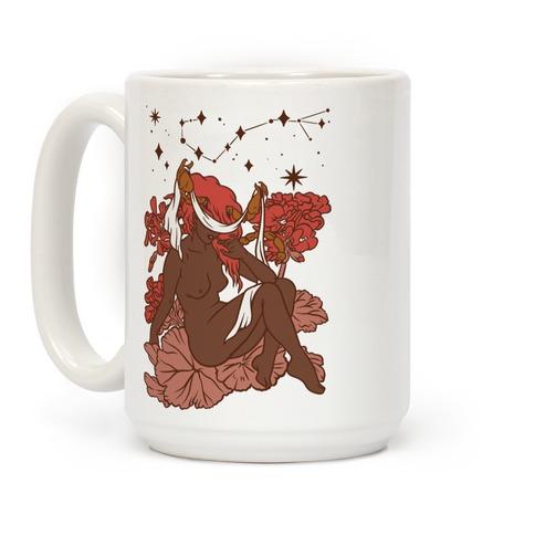 Zodiac Pinup Scorpio Coffee Mug