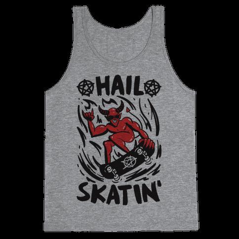 Hail Skatin' Satan Tank Top