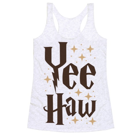 Yee Haw - Harry Potter Racerback Tank Top