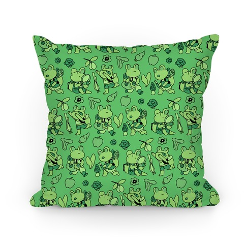 Forage Frogs Pillow