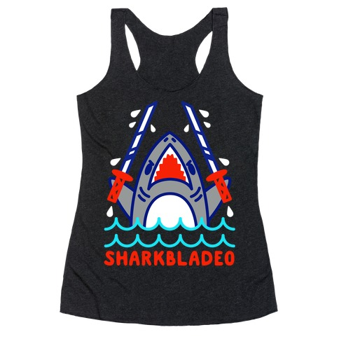 Sharkbladeo Racerback Tank Top